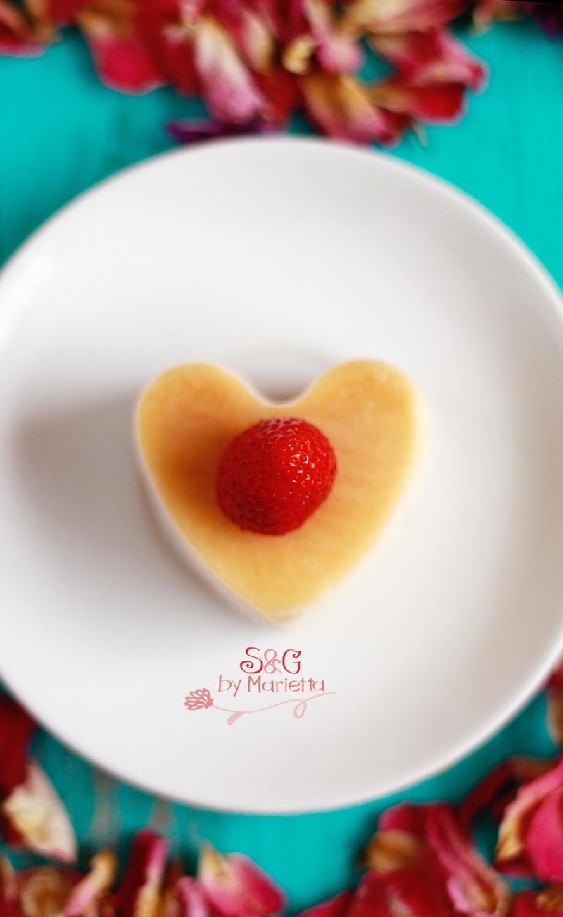 Biscuit corazón fresa rd